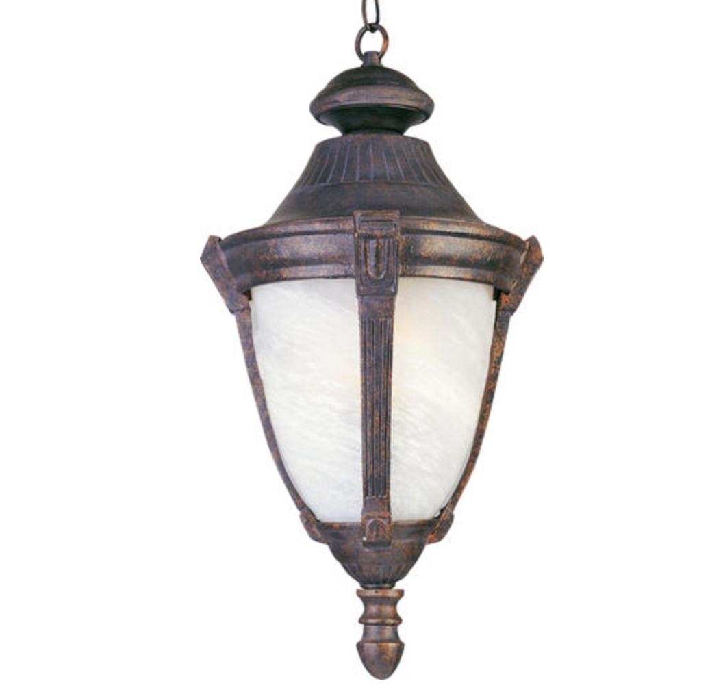 11 Empire Bronze 1 Light Outdoor Hanging Lantern Gothic Ornate