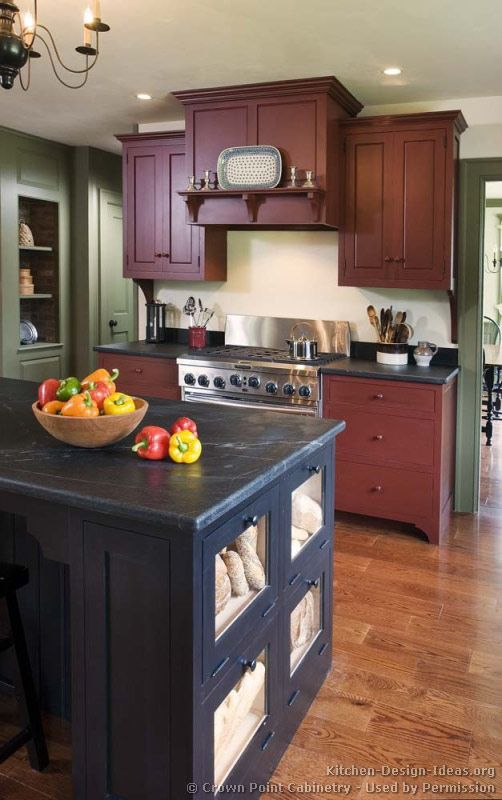 Early American Kitchens Pictures And Design Themes For The Kitchen Pinterest American