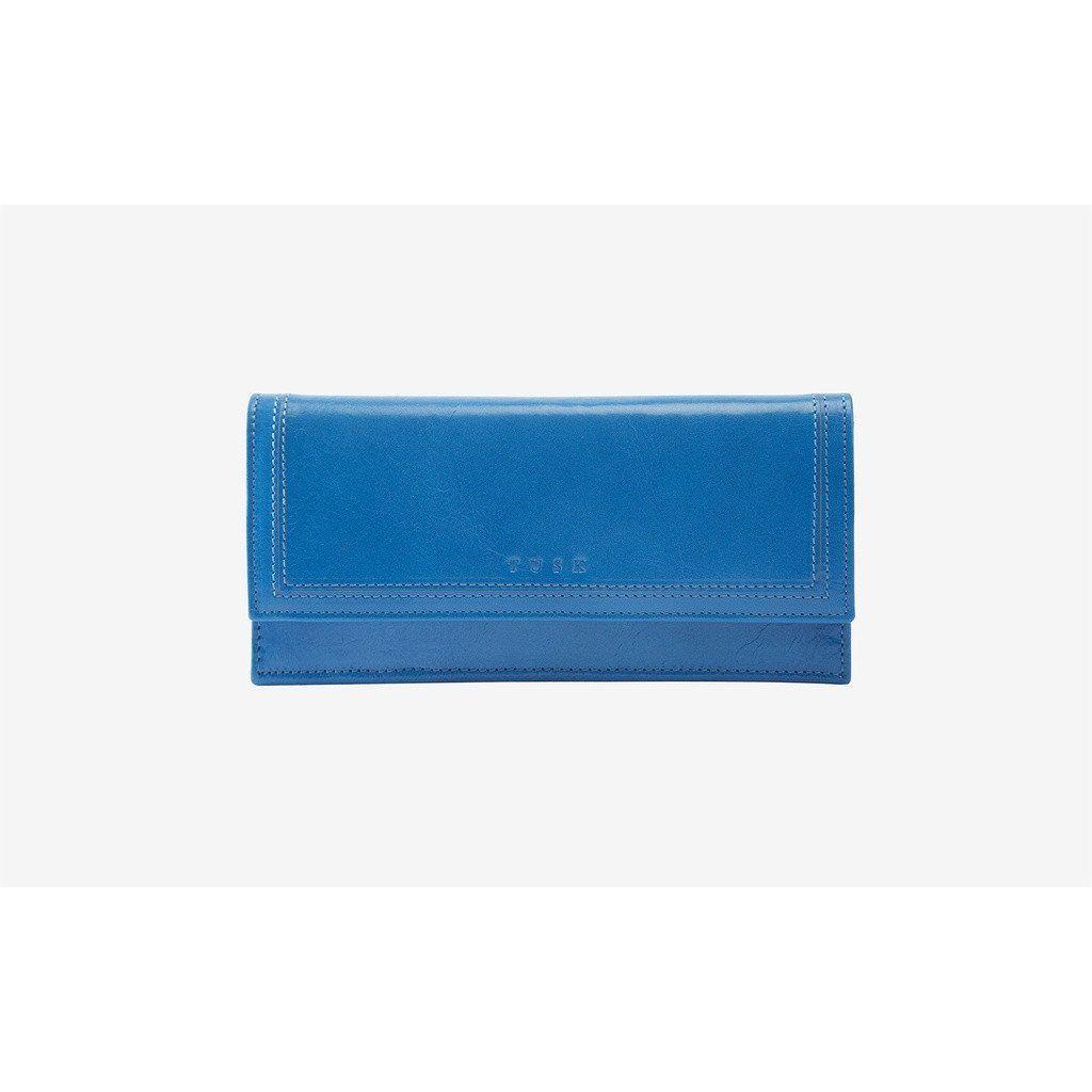 Kent Gusseted Clutch Wallet