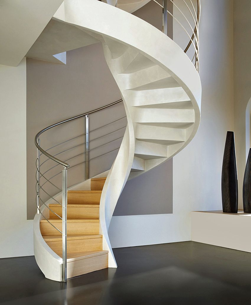 Best Spiral Staircase In Lightweight Concrete By Rizzi Spiral 400 x 300