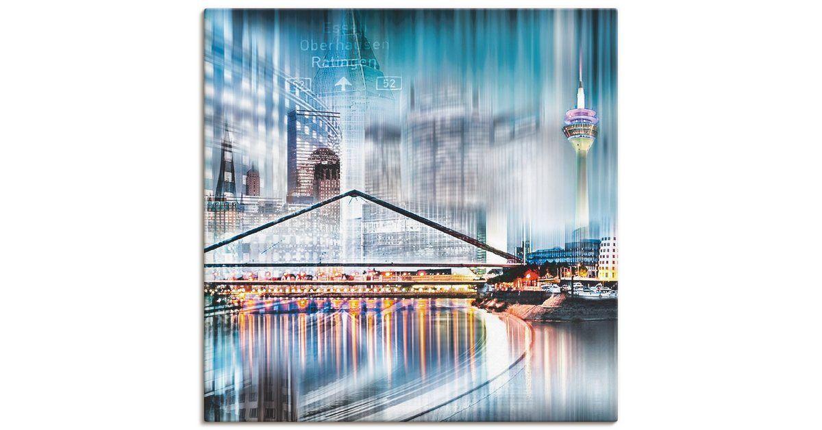 "Photo of Artland Art Print Poster ""Nettesart: Düsseldorf Collage Skyline 13"" | OTTO"