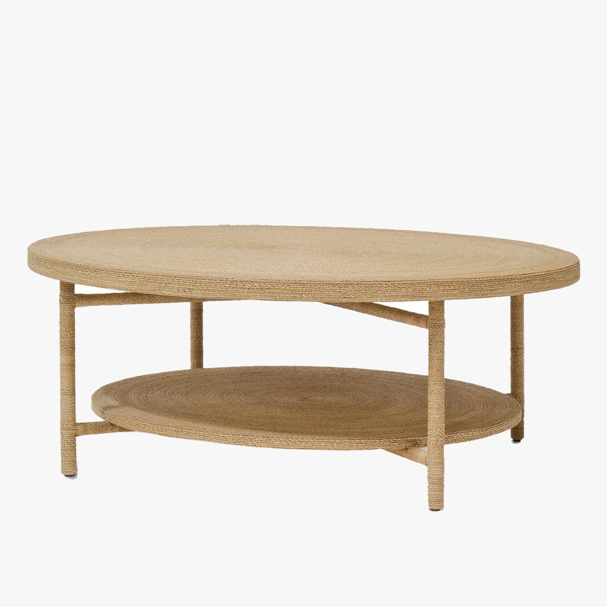 Monarch Seagrass Coffee Table Shop Palecek Tables Contemporary