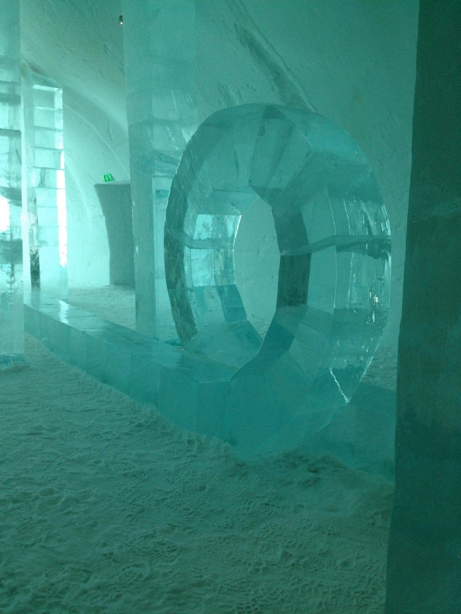 Courtesy Anne Arden Mcdonald Ice Hotel Art Painting