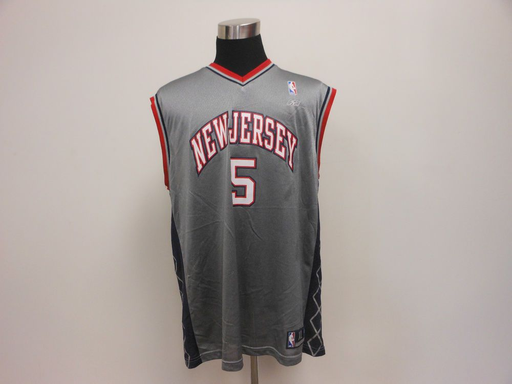Vtg Reebok New Jersey Brooklyn Nets Jason Kidd Basketball Jersey XL Extra  Large  Reebok  NewJerseyNets  tcpkickz e40076ff1