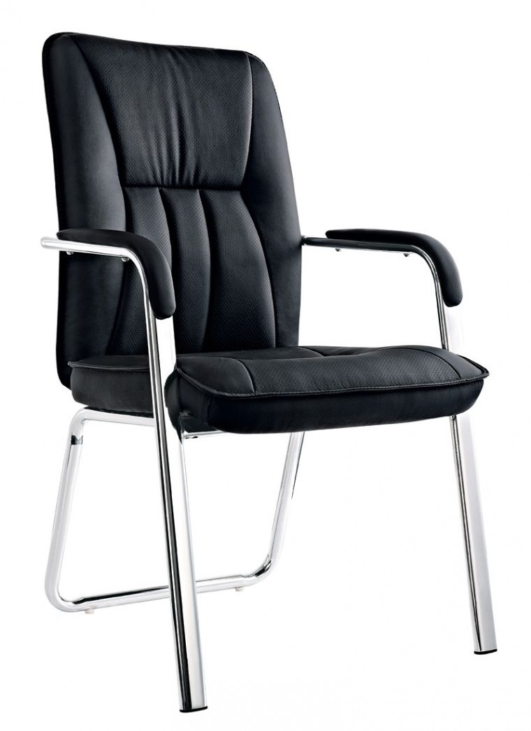 Leather Office Chair No Wheels Expensive Home Furniture Check More At Http