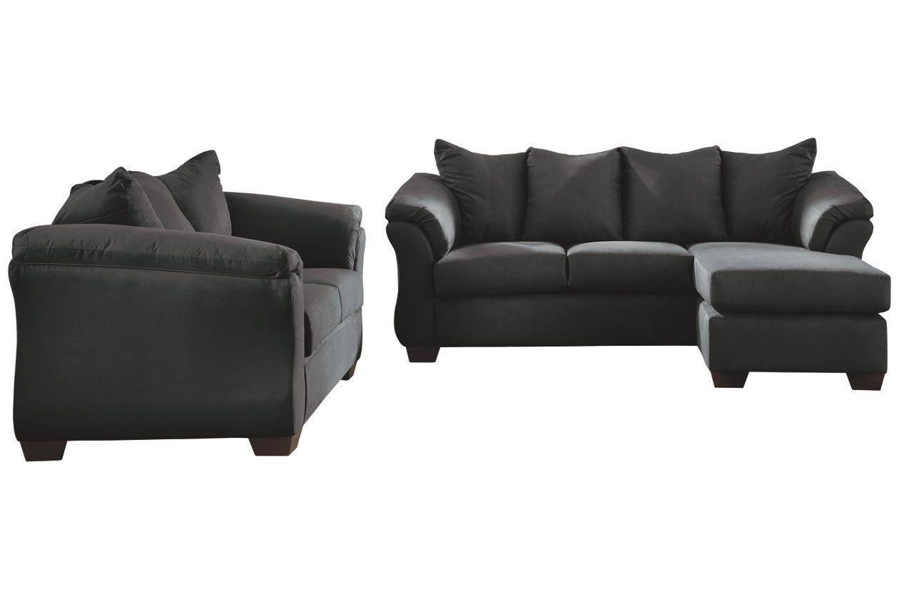 Fine Darcy Sofa Chaise Loveseat Ashley Furniture Homestore Dailytribune Chair Design For Home Dailytribuneorg