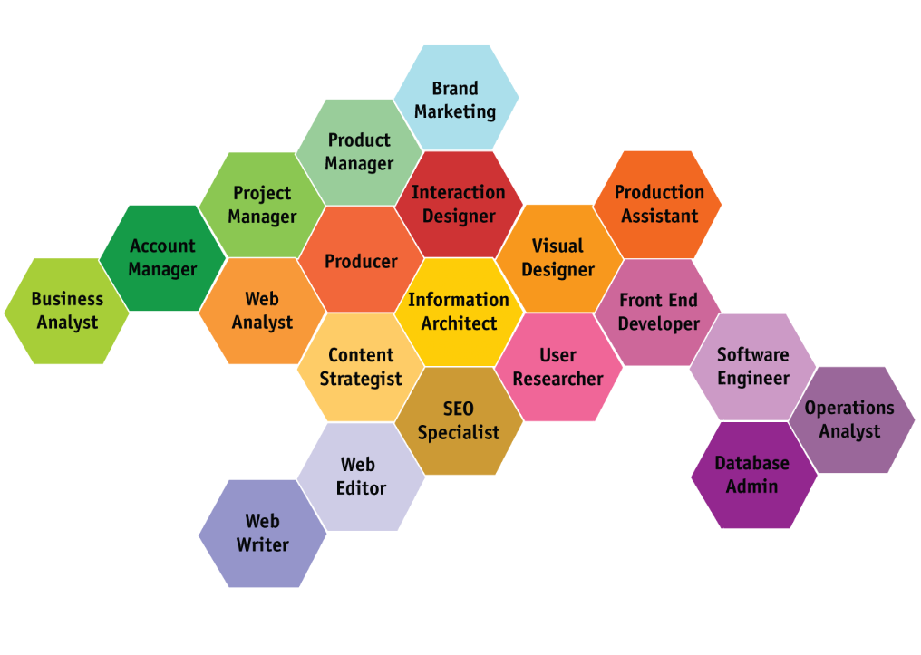 digital media organizational charts