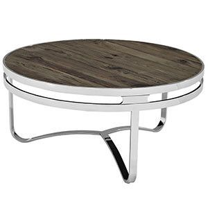 Provision Wood Top Coffee Table Brown