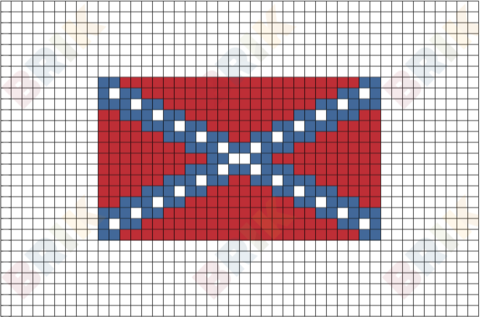 Confederate Memorial Day Pixel Art Pixel Art Lego Art Pixel Art Design