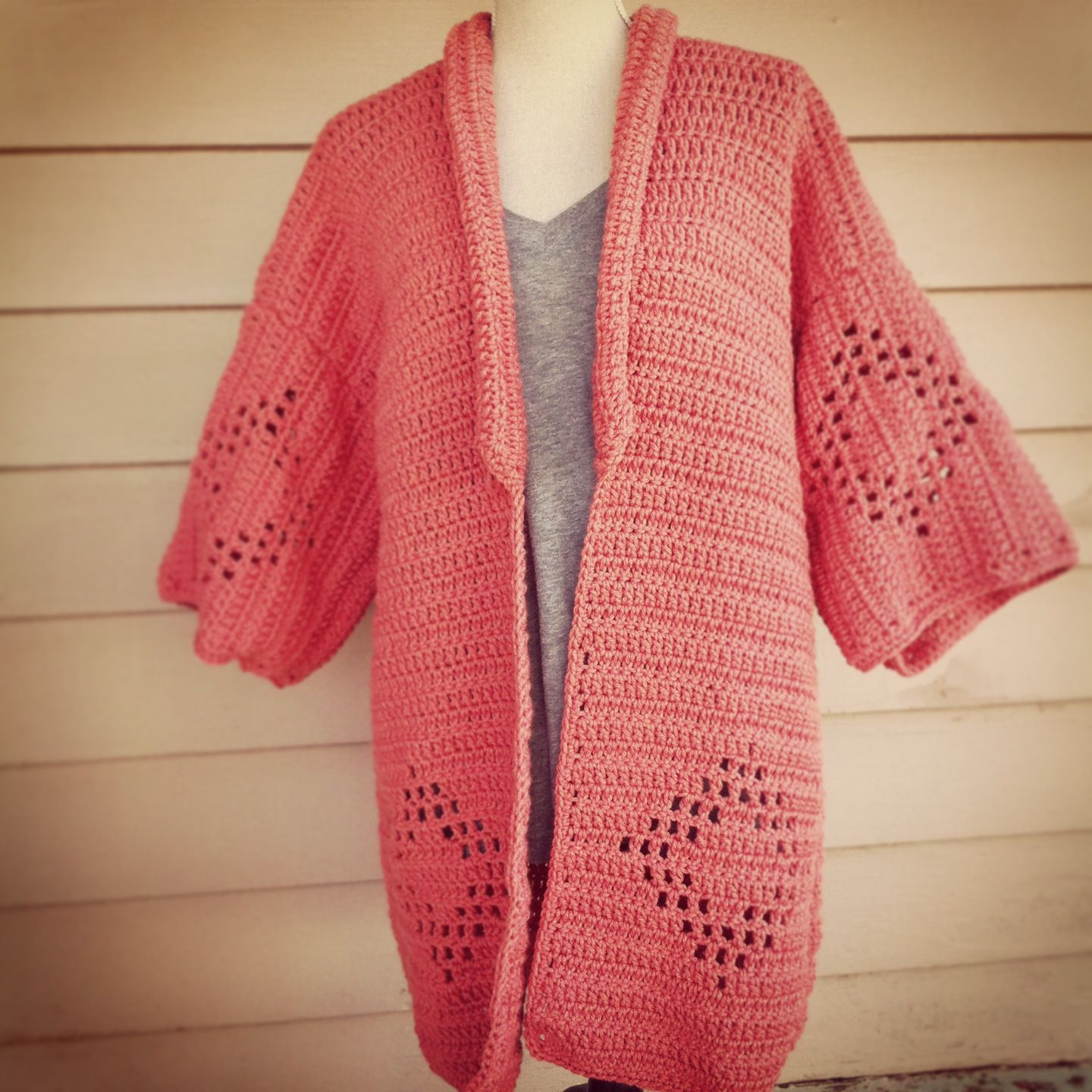 Cardigan by Oikos Handmade  Pattern by Sans Limites Crochet