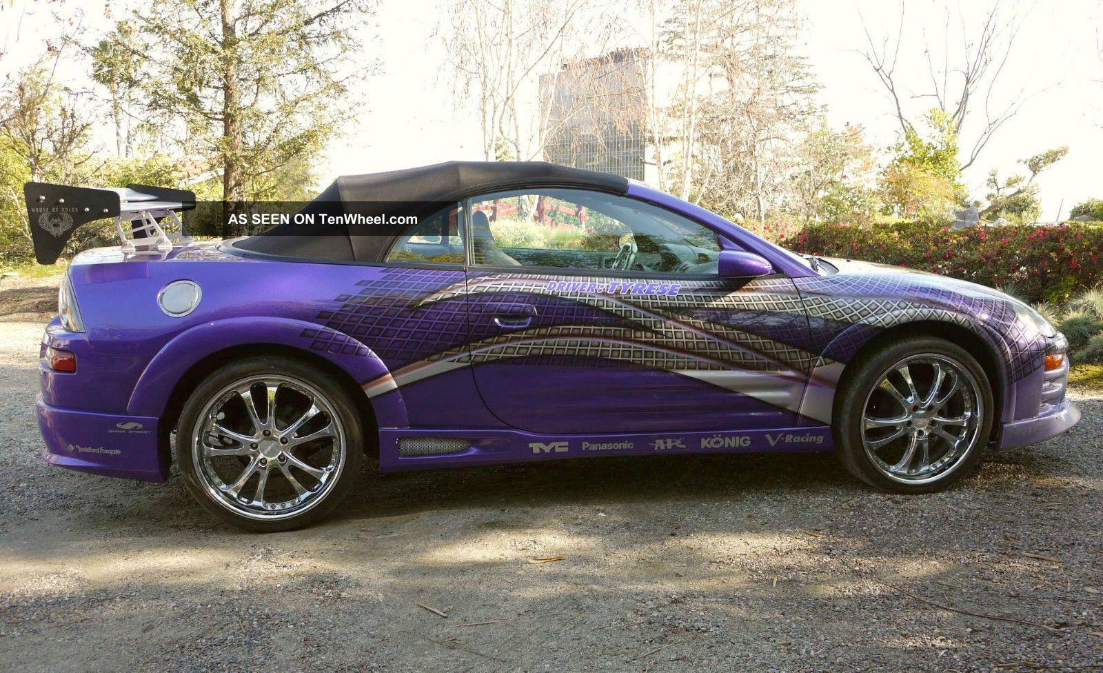 2003 Mitsubishi Eclipse Spyder Gts >> Pin On Fast Furious