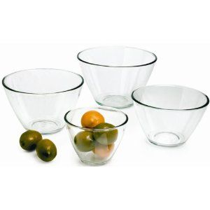 Beautiful and highly functional mixing bowls