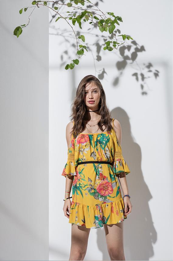 Vestido amarelo Colcci /Clique para comprar
