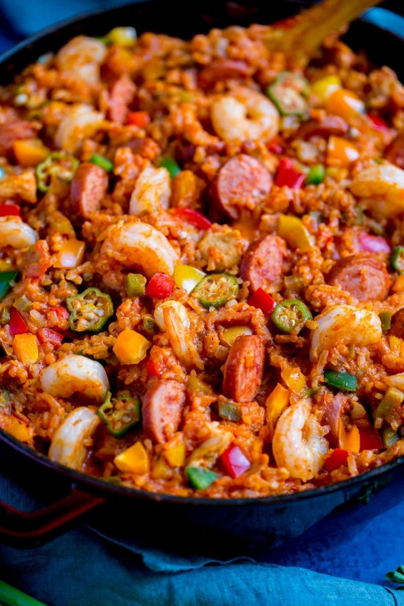 New Orleans Jambalaya Recipe Jambalaya Recipe Easy Louisiana Recipes New Orleans Jambalaya Recipe
