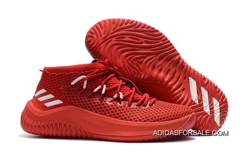 Adidas Dame 4 Chinese Red/White Men's Shoes Copuon Code, Price: $94.83 - Adidas  Shoes Online Store