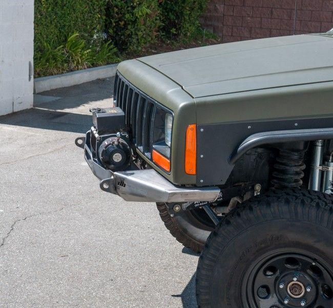 Manta Ray Front Winch Bumper Jeep Cherokee Xj Cherokee Xj