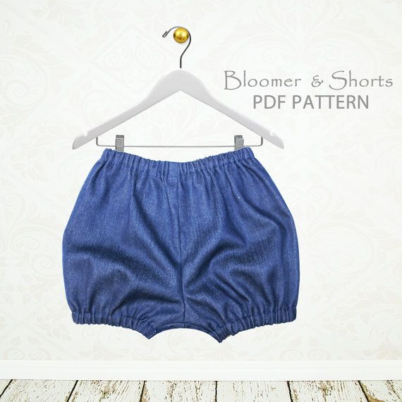 Baby sewing pattern pdf, diaper cover pattern pdf, baby pants ...