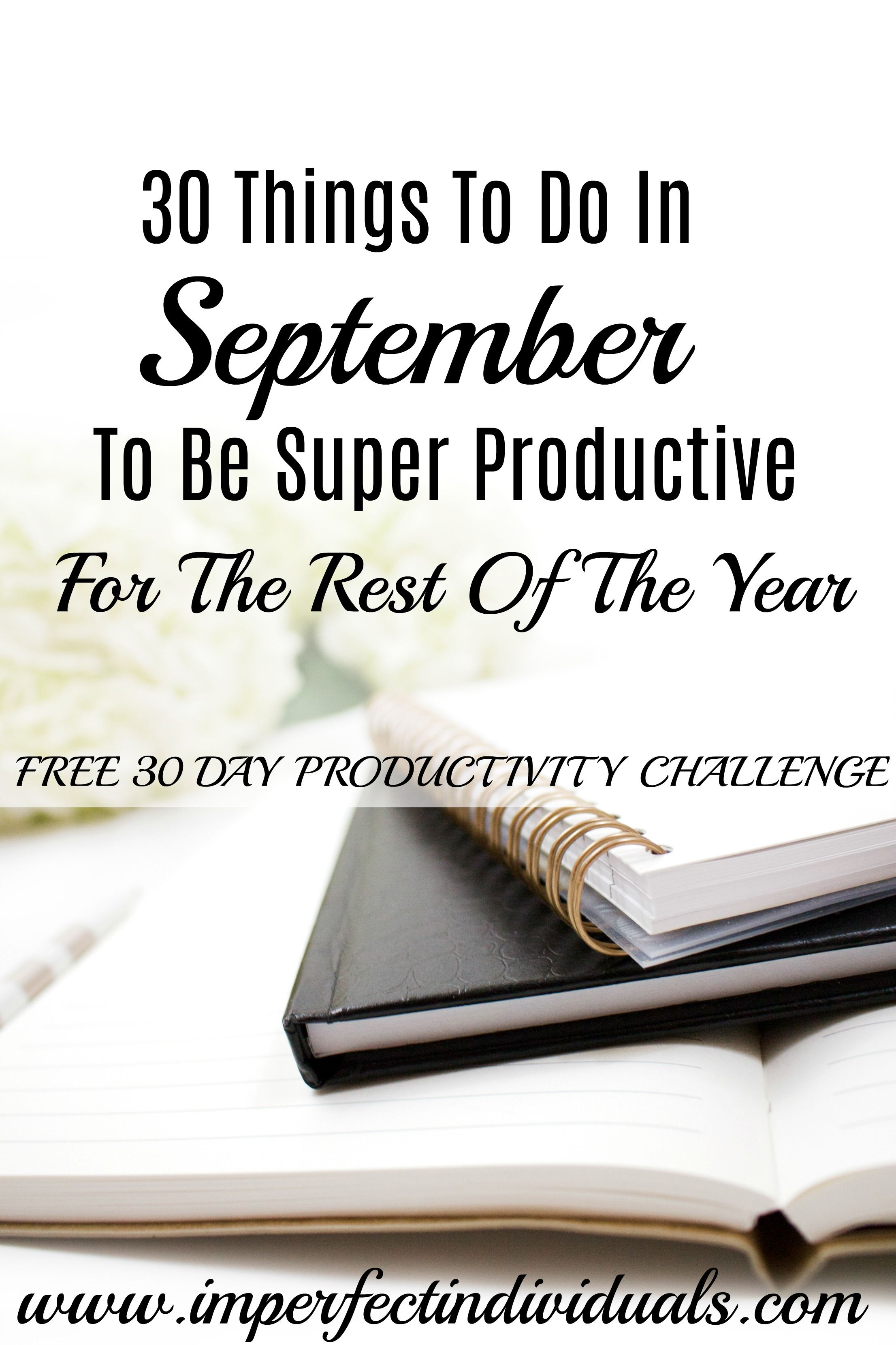 September | Productivity Tips | Calendar | College | Time Management For Moms