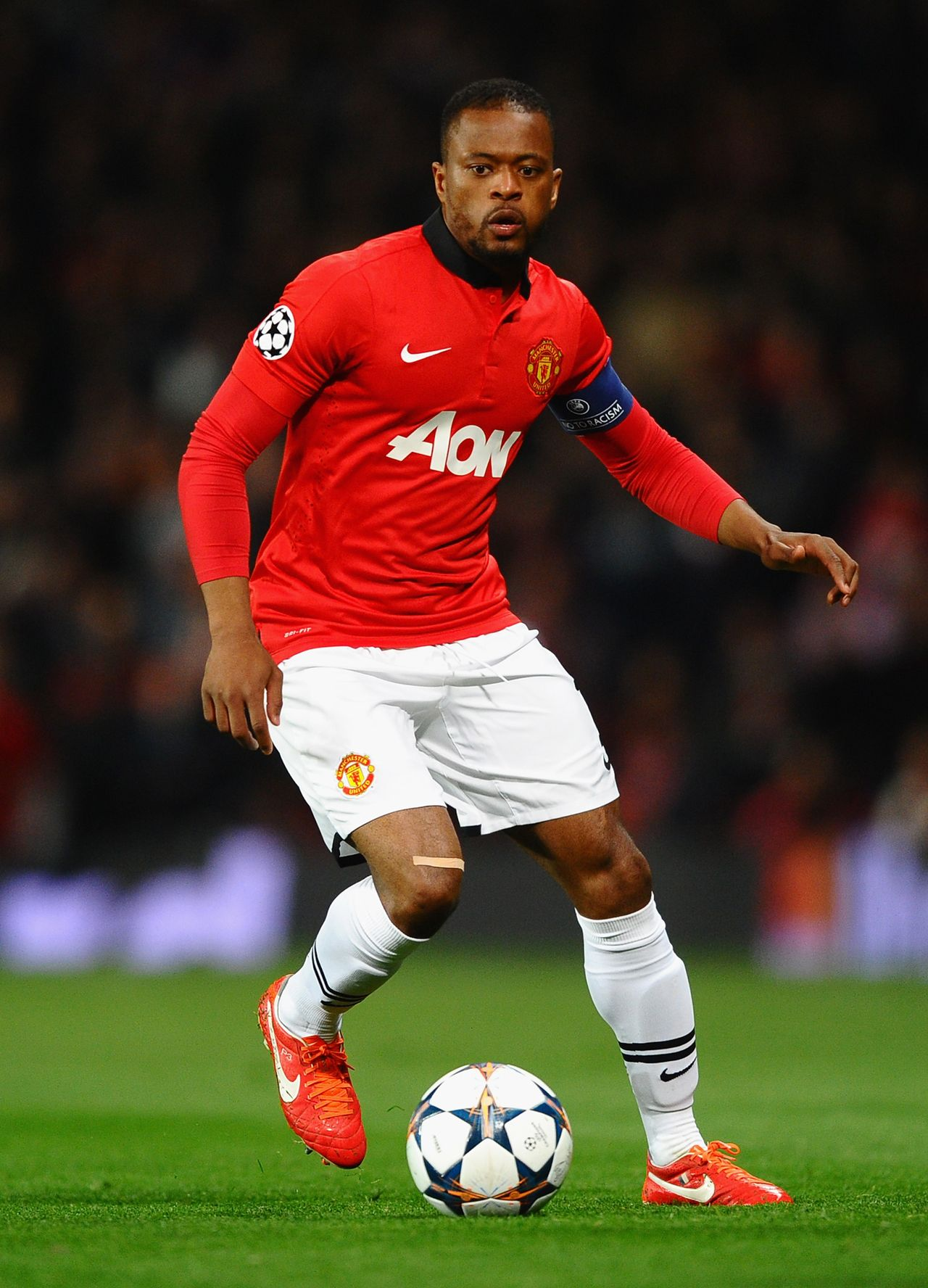 Evra Expects To Be Fit Manchester United The Unit Patrice