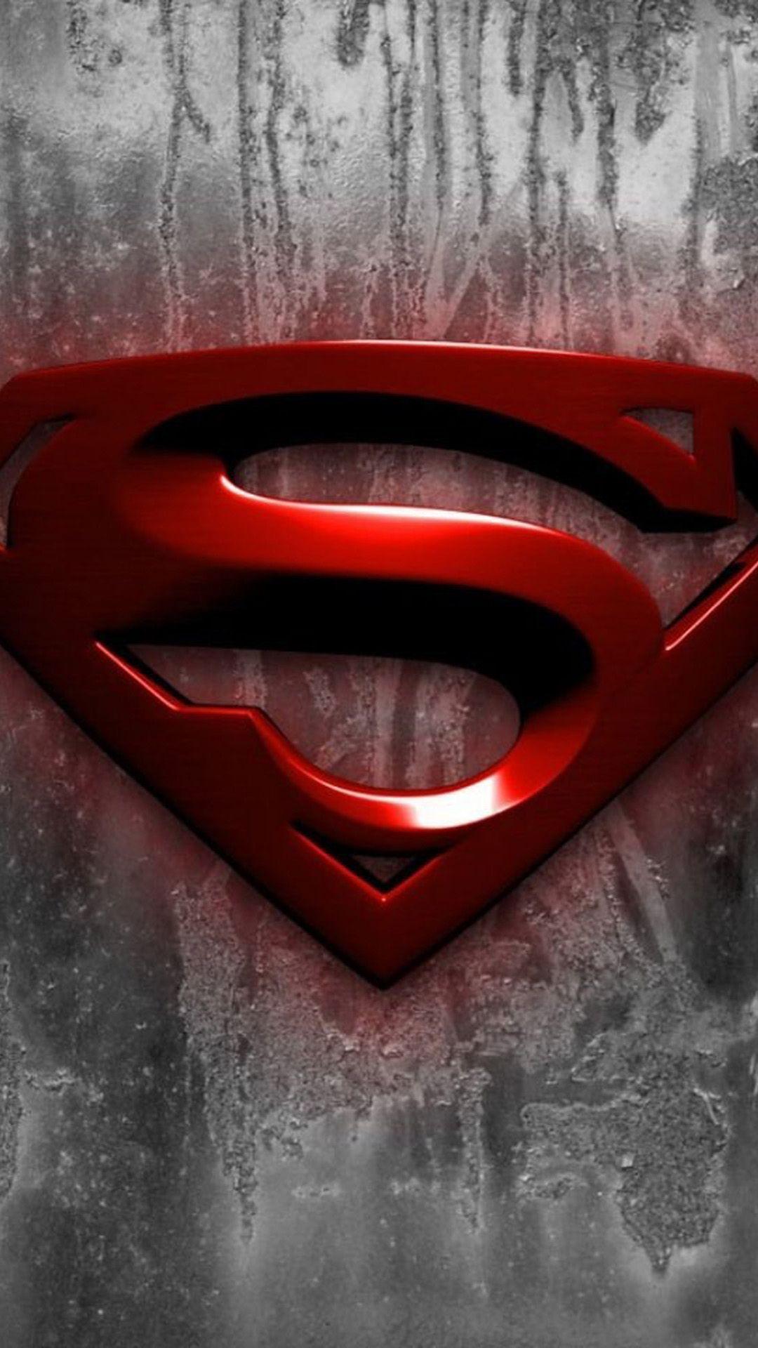 iPhone 6 plus Superman Logo HD Wallpaper Superman