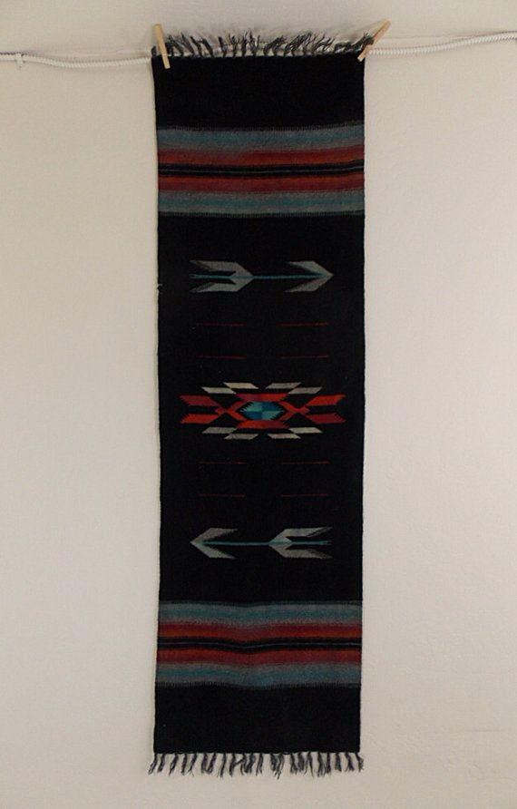 Vintage Navajo Wool Table Runner By Monotonevintage On Etsy