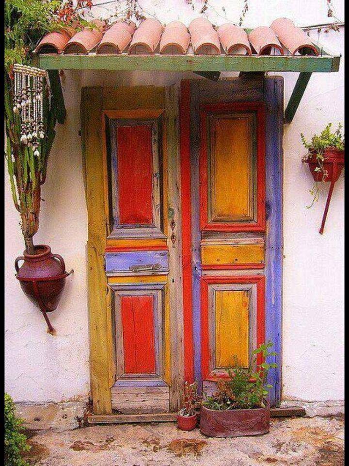 amo cores | Doors and windows | Pinterest | Doors