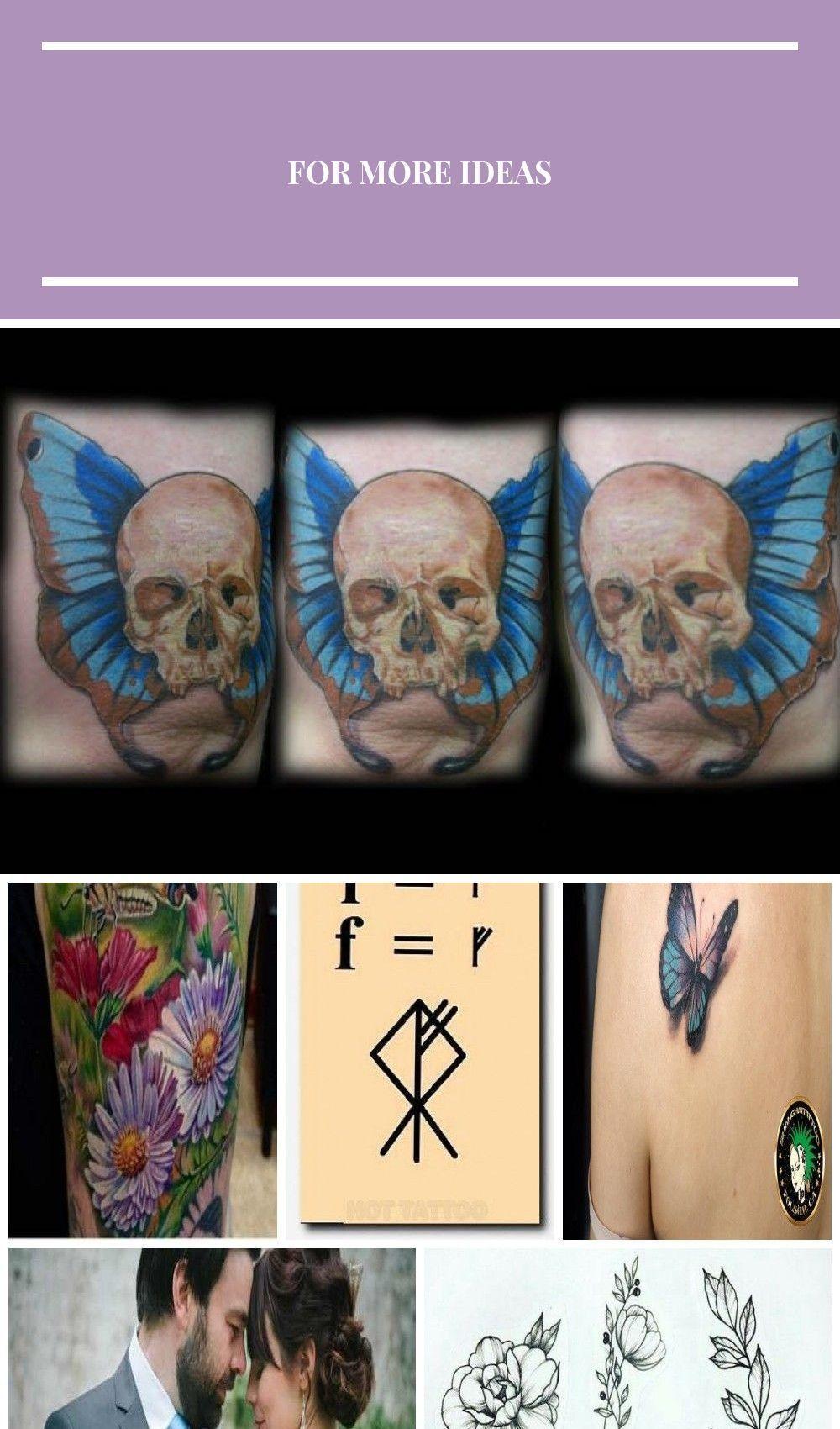 Photo of Totenkopf Schmetterling Tattoo von ~ jesserix auf deviantART Half Butterfly Tatt…