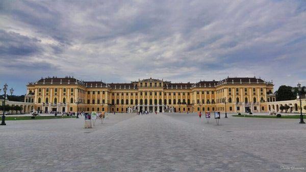 Castle Vienna Schönbrunn