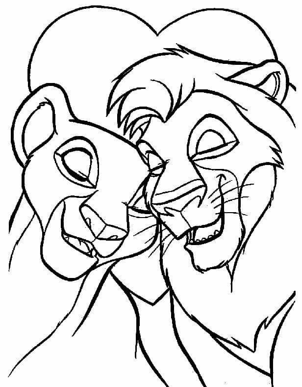 Pin By Jediwizprincess On Love Quotes Lion Coloring Pages Cartoon Coloring Pages Wedding Coloring Pages