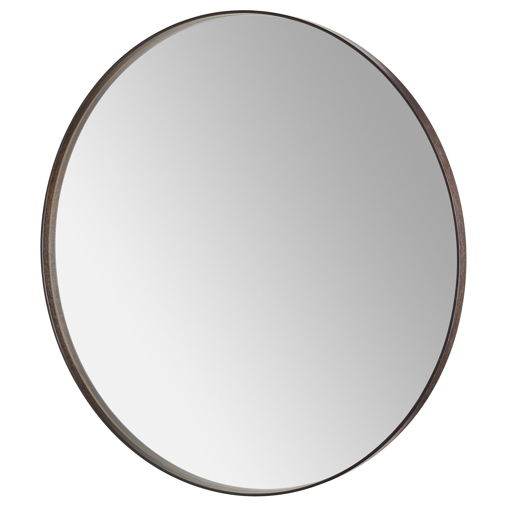 Sandane Mirror Black Brown Veneer 31