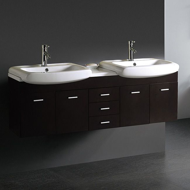 Cool double sink vanity