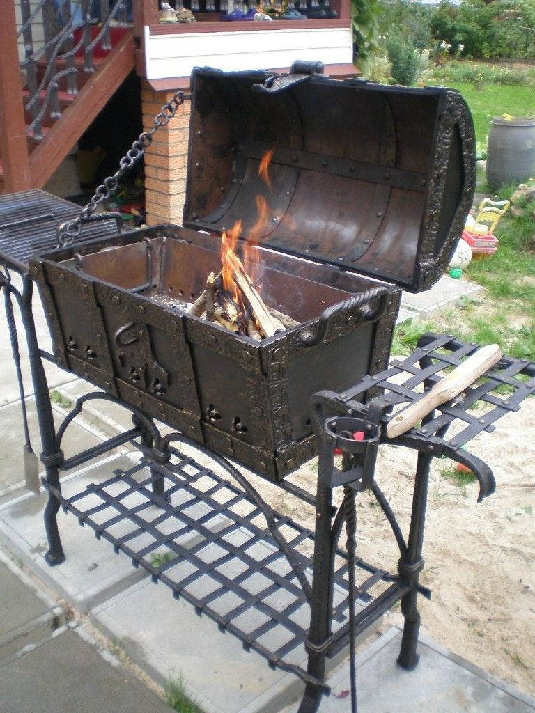 aa27f4b2bc8 Could be an awesome grill | Fire Pit-Grill in 2019 | Fire pit grill ...