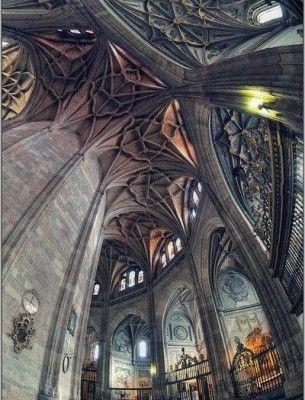 Intérieur de la cathédrale de Ségovie, Espagne