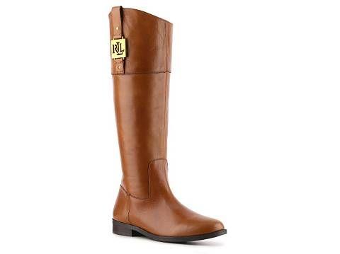 Lauren Ralph Lauren Jaden Riding Boot | DSW $150.