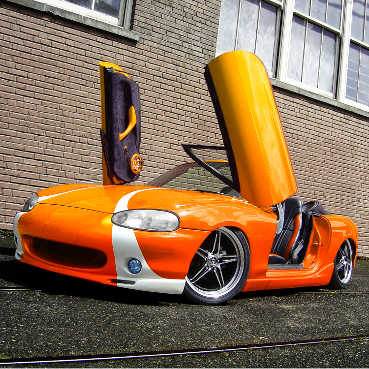 90 Degree Heavy Duty Manual Lambo Vertical Door System Vertical Doors Door Kits Car