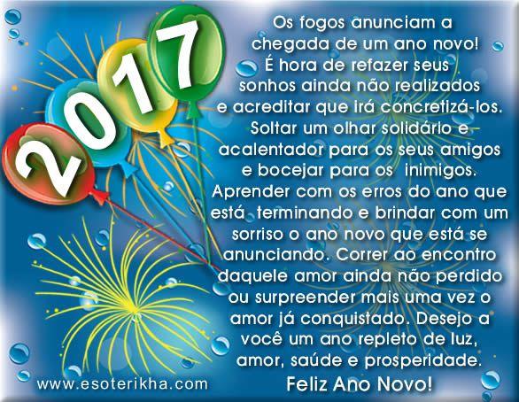 Frases De Feliz Ano Novo 2017 Flores Arte Happy New Year Happy
