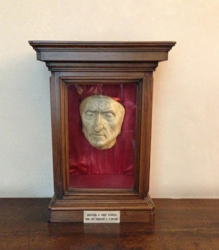 sélectionner pour l'original vente au royaume uni conception populaire Anonyme: Masque mortuaire de Dante (1321)   british ...
