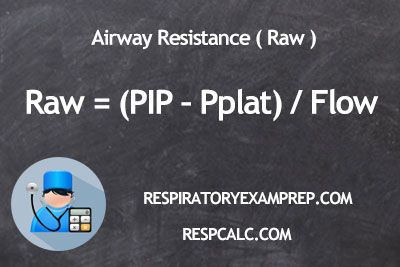 Airway Resistance Respiratory Therapy
