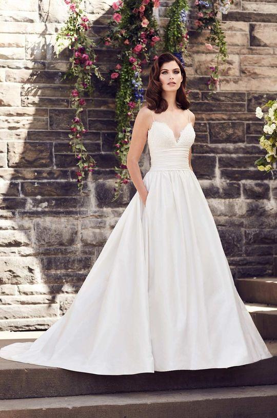 Silk A Line Wedding Dress Style 4730 Bridal Gowns Spring