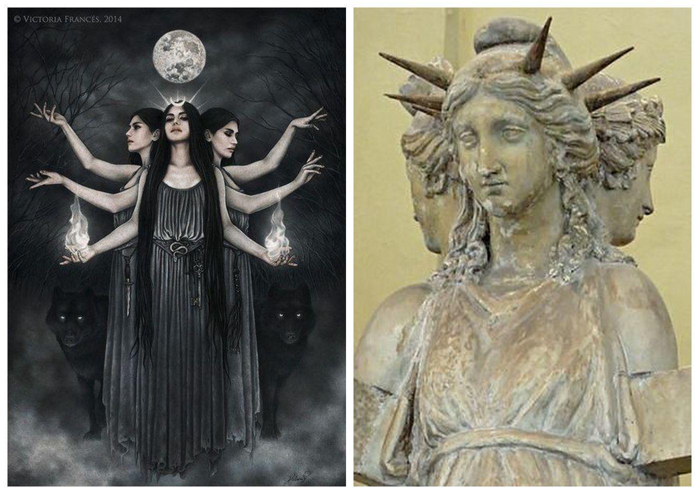 9 ФАКТОВ О ГЕКАТЕ 1. Богиня Геката входила в число важнейших божеств  древнего мира. Зародившись во тьме доисторических времен… | Эллинизм,  Богини, Доисторический