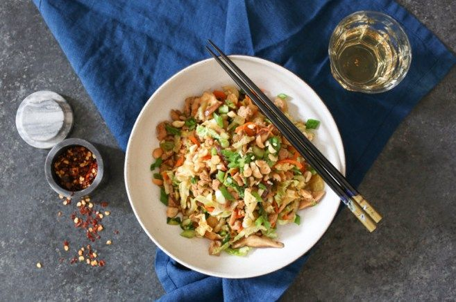 Egg Roll Bowls Recipe Authentic Dishes Eggroll In A