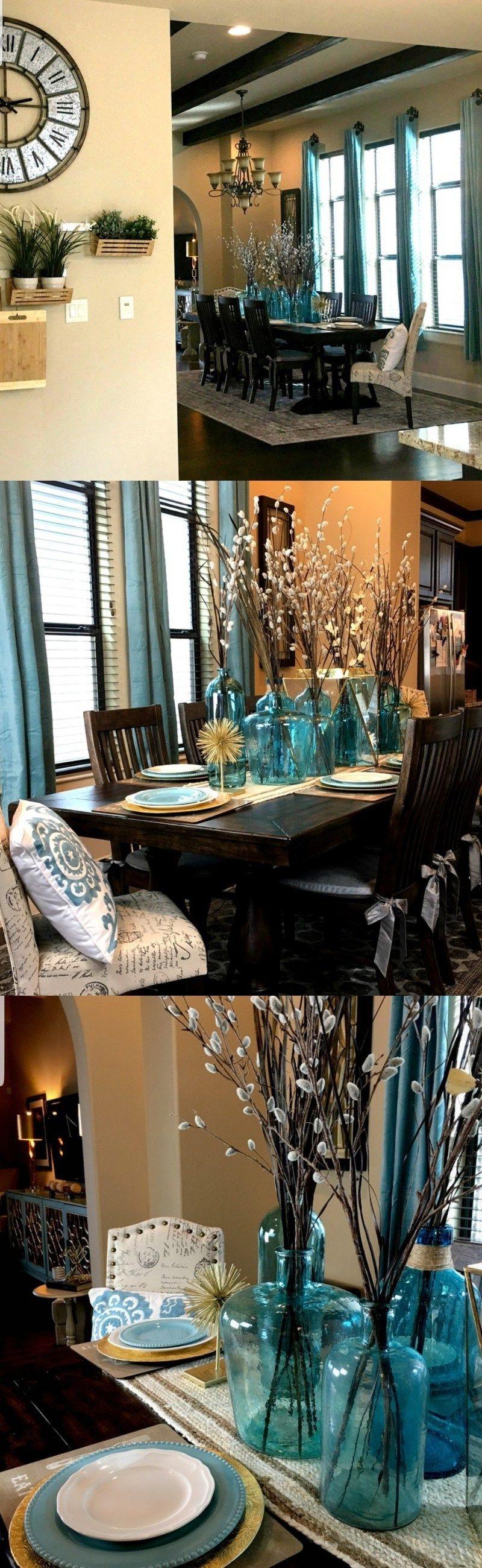 Diy Centerpiece Ideas Dining Table Centerpiece Dining Table Decor Table Centerpieces