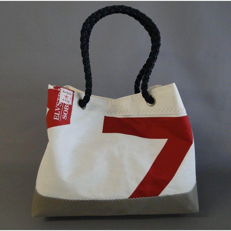 en vente en ligne de style élégant tout neuf sac ville en toile de voile de bateau recyclée | Sacs en ...
