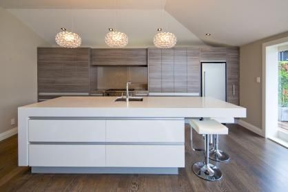 Laminex Lustrous Elm Cabinetwork To Rear Pinned By Secret