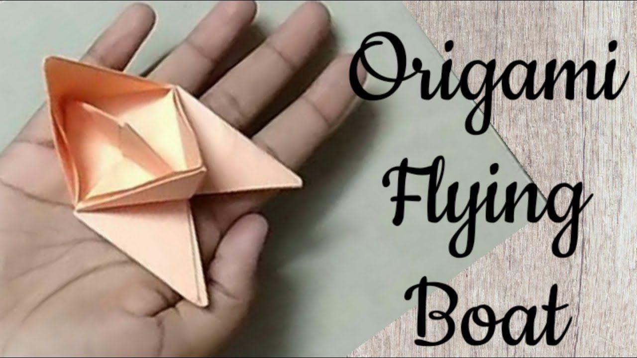 Photo of Wie man ein fliegendes Boot herstellt | DIY Origami Paper Crafts | Tutorial # 5