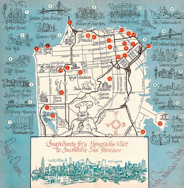 1963 San Francisco Tourism Map | Design-Cities and ... San Francisco Walking Map Of City on walking map of antigua guatemala, walking map of cannes, walking map of shanghai, walking map of chinatown, walking map of frankfurt, walking map of old san juan, walking map of astoria, walking map of michigan, walking map of niagara falls canada, walking map of disney world, walking map of skagway, walking map of istanbul, walking map of quebec, walking map of gatlinburg, walking map of anchorage, walking map of montreal canada, walking map of oslo, walking map of milan, walking map of orlando, walking map of berkeley,