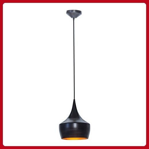Globe Electric 1 Light Small Modern Industrial Pendant Oil Rubbed Bronze Gold Inner Finish 1x A19 60w Bu Industrial Pendant Modern Industrial Globe Electric