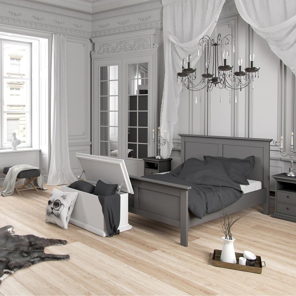Bett Pariso 160x200 Matt Grau Danisches Bettenlager Ideen Furs Zimmer Zimmer Haus Deko