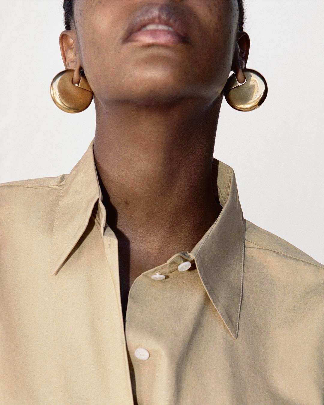 f60d91053 Celine Earrings · Editorial · Territory #CelineFall17 Pearl Jewelry,  Statement Jewelry, Indian Jewelry, Silver Jewelry, Silver