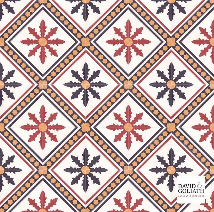 Tile of the week: Hector Yellow 20x20cm. Classic cement tile. #davidgoliath #cementtiles #patterns #colours #interiordesign #doknoord #doknoordgent #interior #decor #design #tegelvandeweek #cementtegels #carreauxdelasemaine #carreauxdeciment #carreauxciment #tileoftheweek #classic #hector #patternplanetme